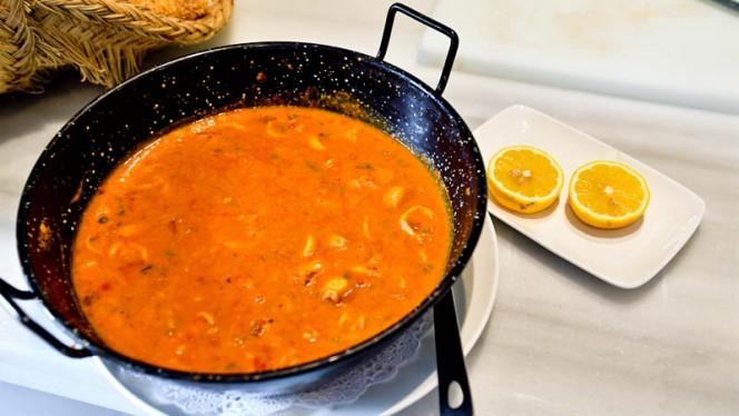 Sugerencia del chef - El Tomate de Aranjuez, Aranjuez