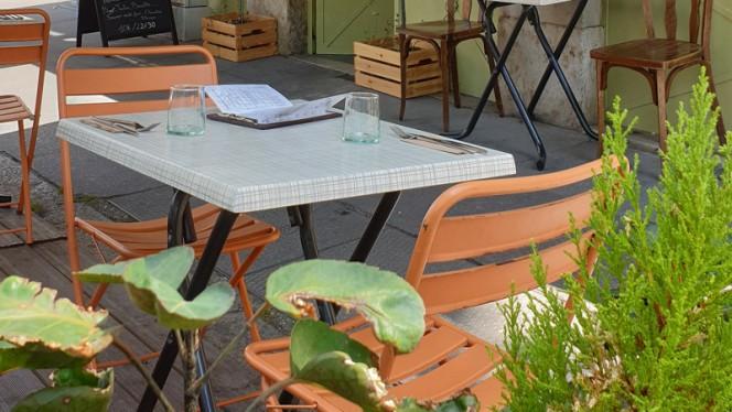 Terrasse - L'Atelier du Fumoir, Lyon