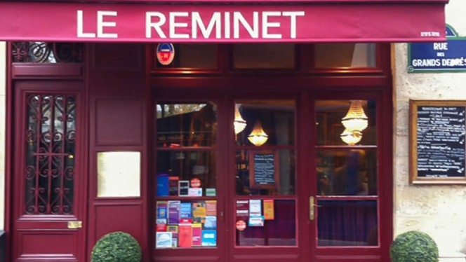 Devanture - Le Reminet, Paris