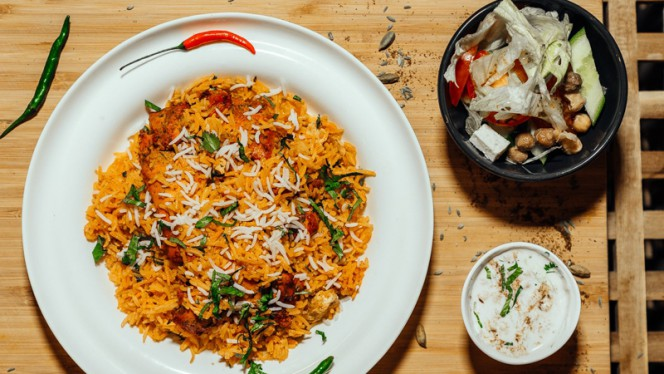 Chicken Biryani - Atithi Indian Restaurant Rotterdam, Rotterdam