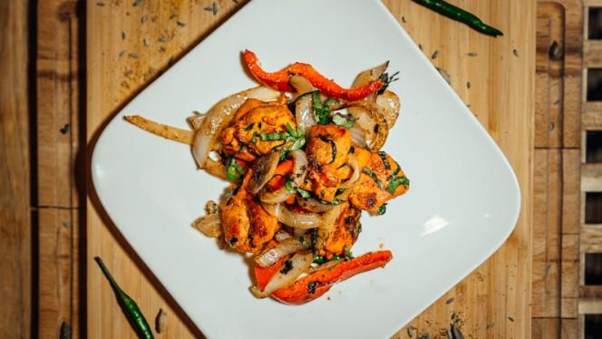 Chicken Tikka Kabab - Atithi Indian Restaurant Rotterdam, Rotterdam