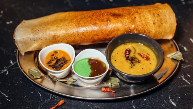 Masala dosa - Atithi Indian Restaurant Rotterdam, Rotterdam