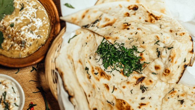 The best Naan - Atithi Indian Restaurant Rotterdam, Rotterdam