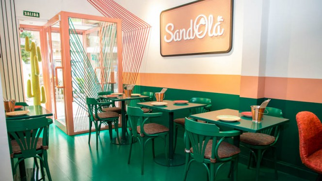 Vista del interior - SandOlá, Madrid
