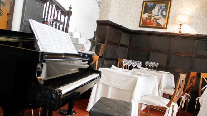 Detalle piano - La Favorita, Madrid