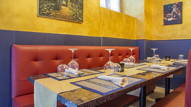 Vista della sala - Thai chokdee restaurant, Milan