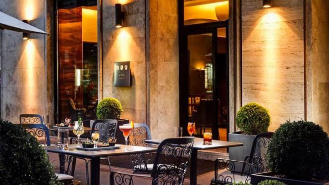 Vista sala - UNA Restaurant, Rome