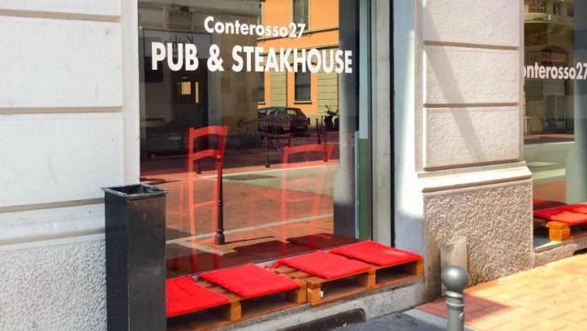 la entrata - Conterosso27, Milano