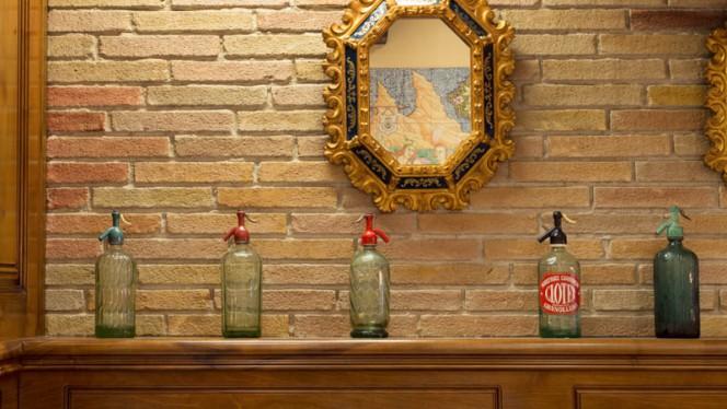 Detalle decoración - Asador de Aranda - Londres, Barcelona
