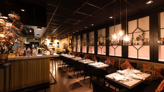 Bar - Indiaas Restaurant Mayur, Amsterdam