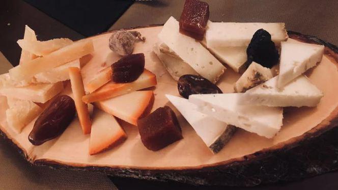 tapa queso - Homenaje Taberna Gourmet - Centro, Valencia