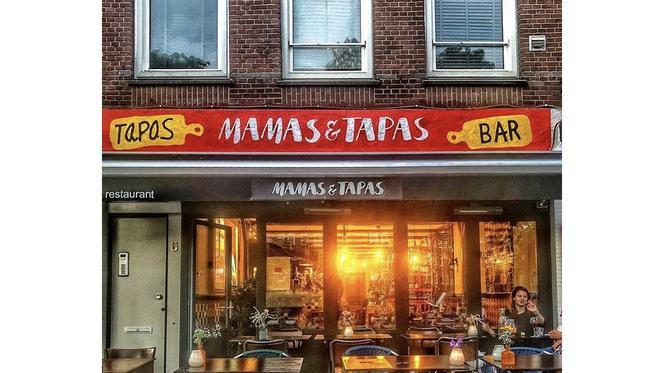 Mamas & Tapas Front - Mamas & Tapas, Amsterdam