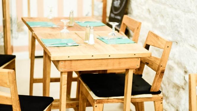 Vue table - L'Echoppe de Paris -Charonne, Paris