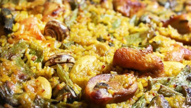 detalle arroz - Grabador, Valencia