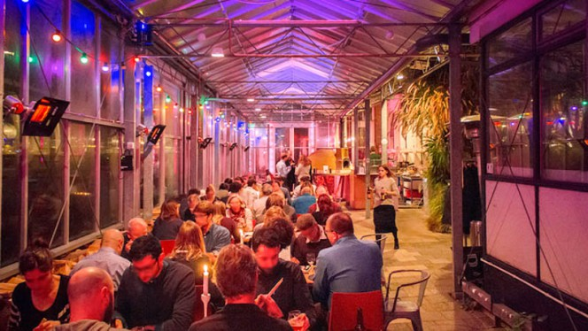 Restaurant - Mediamatic ETEN, Amsterdam