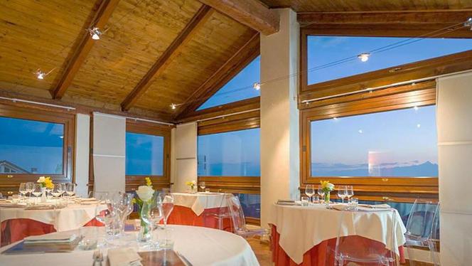 La sala panoramica - La Taverna di Fra' Fiusch,
