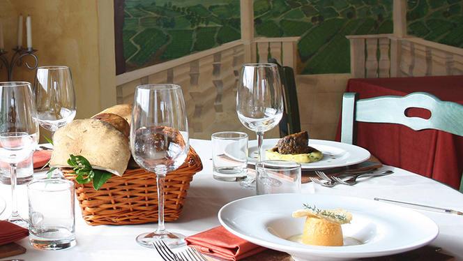 Mise en place - La Taverna di Fra' Fiusch,