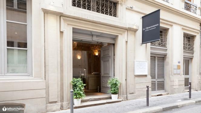 Devanture - La Quintessence, Lyon