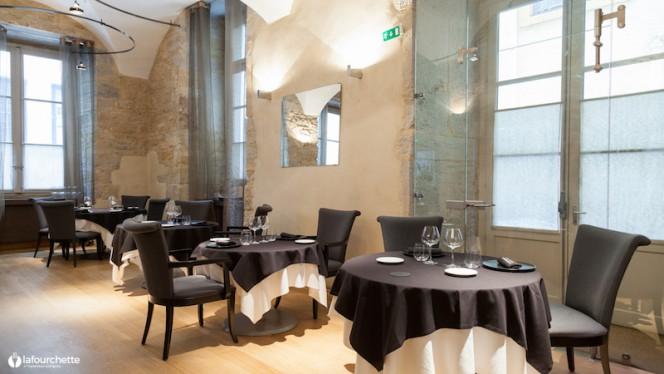 Salle du restaurant - La Quintessence, Lyon