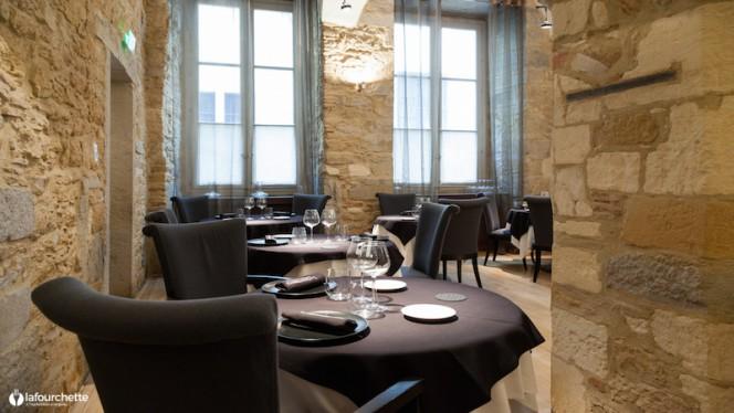 Table dressée - La Quintessence, Lyon