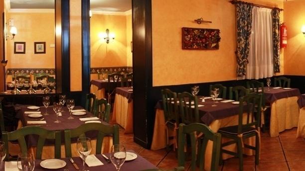 Vista Interior - Huerto y Brasa, Madrid
