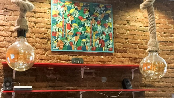 Detalle decoración - Keyaan's, Madrid