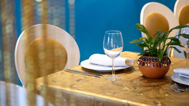 Detalle mesa - Swagat Restaurant, Madrid