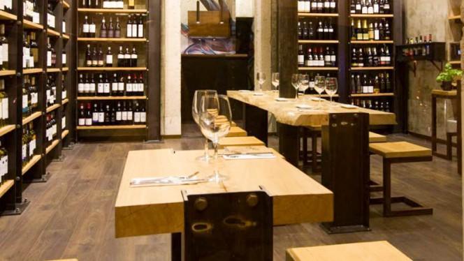 Vista da sala - Nova Wine Bar, Lisboa