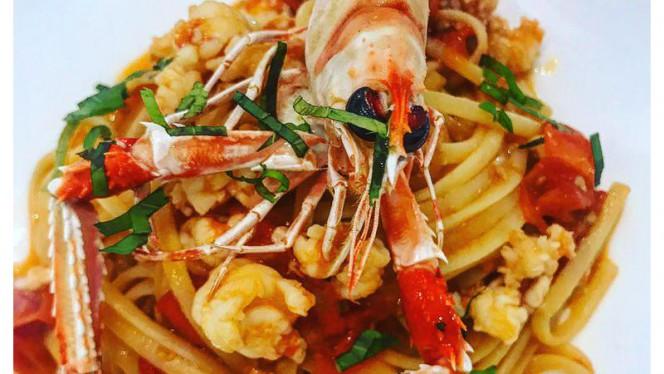 Linguina agli scampi, pomodorini e menta - Pescheria Bistrot Fish Corner, Cusano Milanino