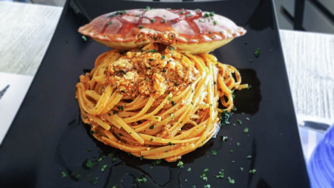 Linguina al Granciporro - Pescheria Bistrot Fish Corner, Cusano Milanino