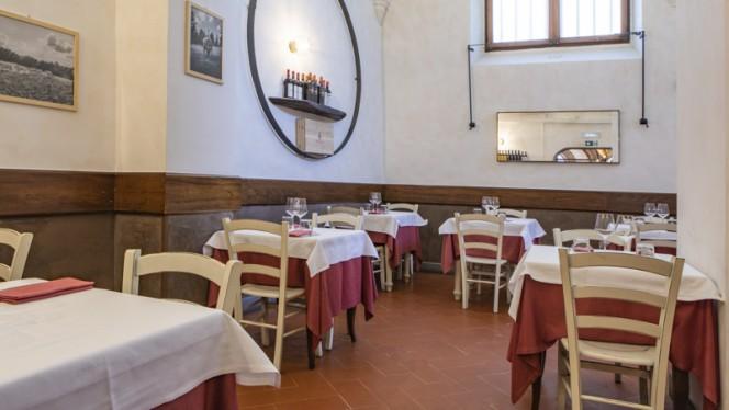 Interno - Trattoria dall'Oste Chianineria - Duomo, Firenze