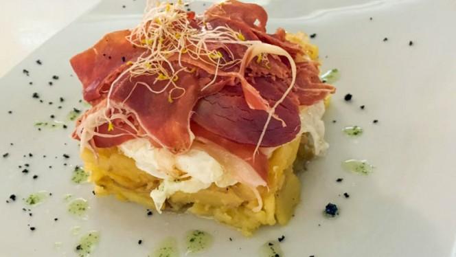 Huevos rotos - Café Barbieri, Madrid