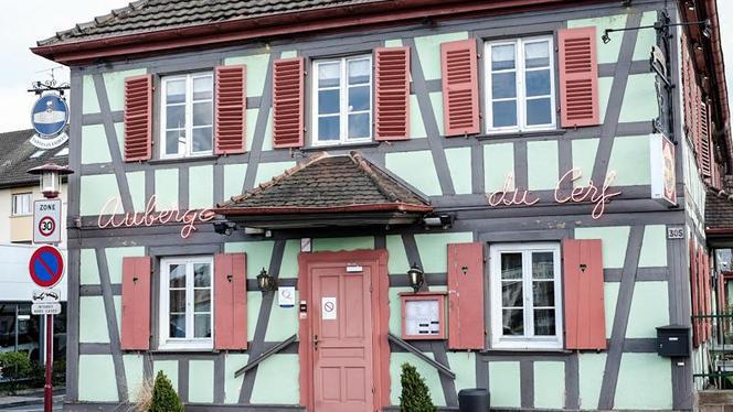 Devanture - Auberge du Cerf, Illkirch-Graffenstaden