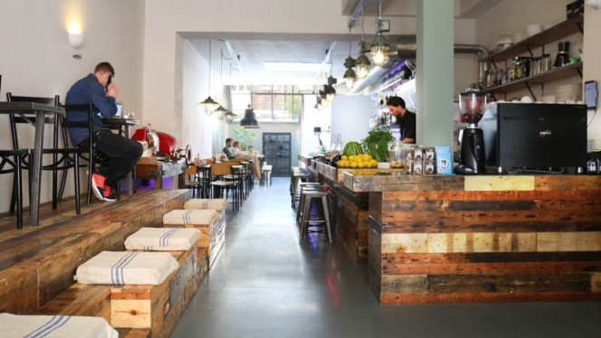 restaurantzaal - Gallizia, Amsterdam