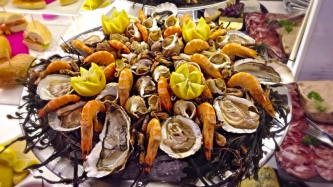 fruits de mer - Hôtel Bel Ami - Restaurant Les Mots Passants, Paris