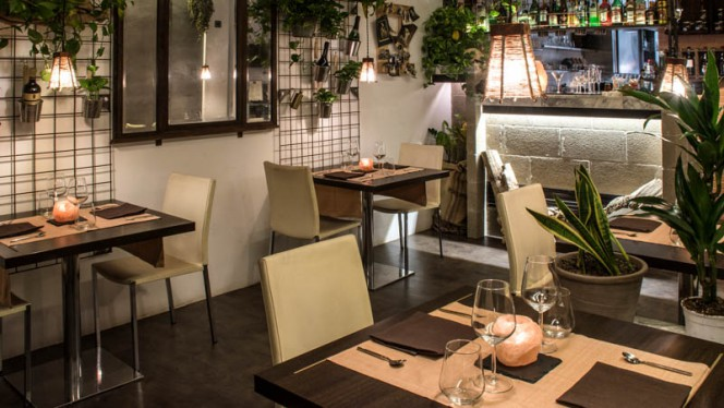 Vista sala - Senzafiamma Raw Food Restaurant, Rome