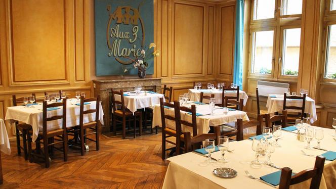 Salle étage - Aux Trois Maries, Lyon