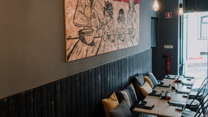 Sala principal - KOPPU - Ramen Concept Food, Lisboa