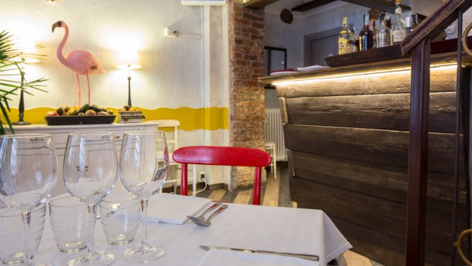 Sala del ristorante - Bottega Sicula, Milan