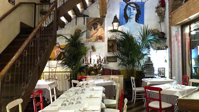 Vista della sala - Bottega Sicula, Milan
