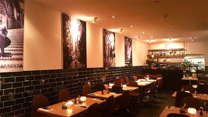 Het restaurant - Trattoria Olivo, Amsterdam