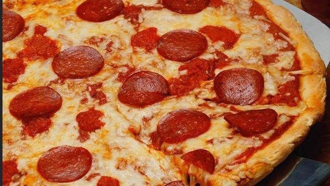 pizza al salamino.JPG - Maiori, Saronno