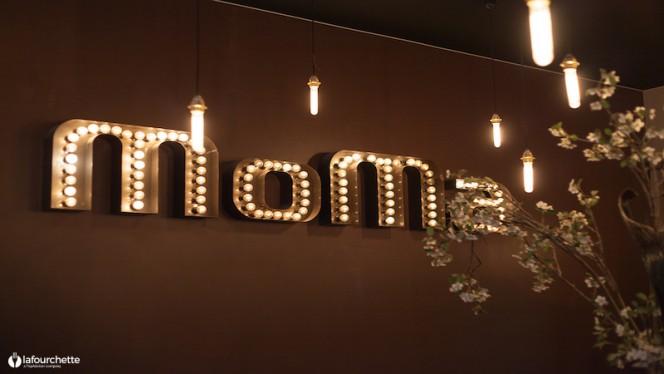 Détail de décoration - Le MoMa, Lyon