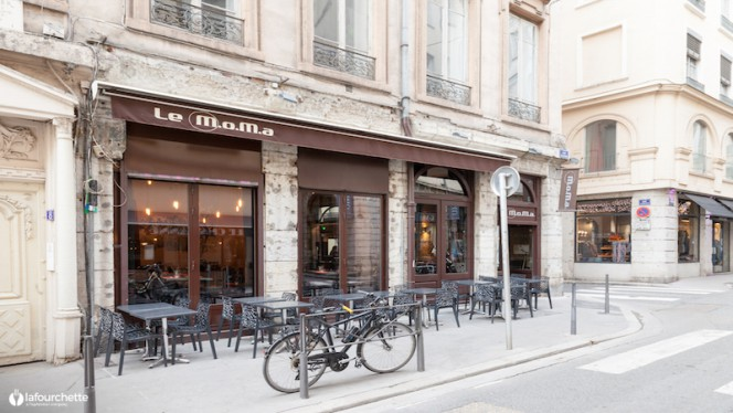 Devanture - Le MoMa, Lyon