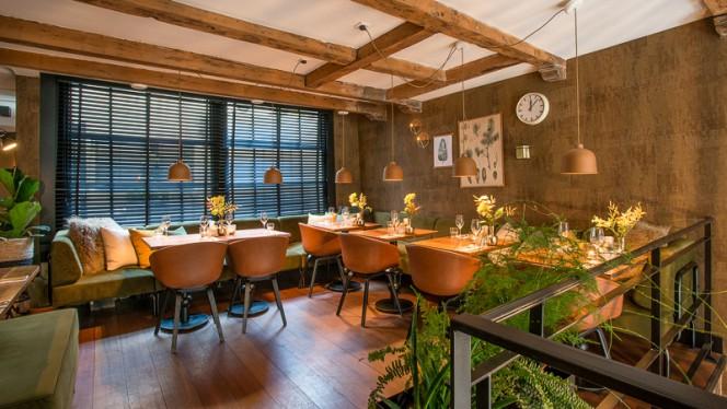 Restaurant - Bistro Brasserie Bleu, Amsterdam