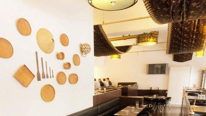 Salle du restaurant - Bornéo à Paris, Paris