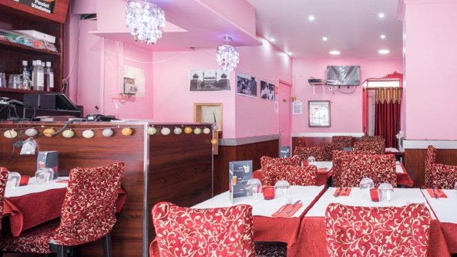 Salle du restaurant - Curry Garden, Paris