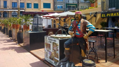 El Pirata, Palamos