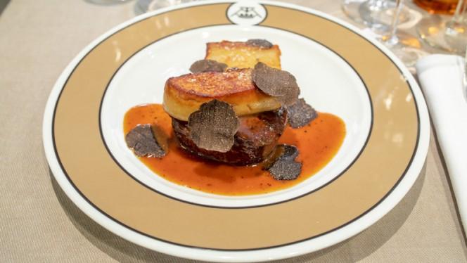 Suggestion du chef - Maison de la Truffe Marbeuf, Paris