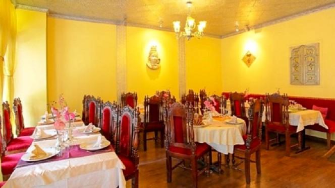 Salle du restaurant - Villa Darjeeling, Paris